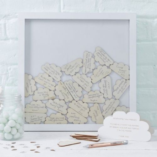 Hello World Wooden Frame Guestbook (each)